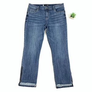 KUT Reese Ankle Straight Leg Jeans size 12